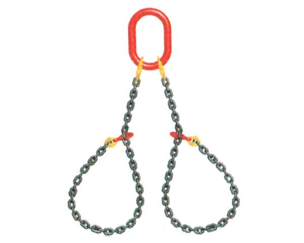 大船链条索具 双肢链条捆绑索具
